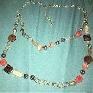 Chico's Double layer Necklace